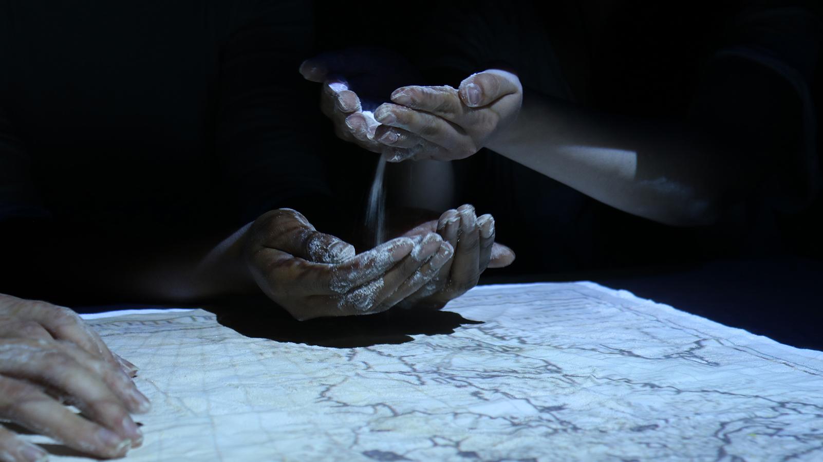 """Élise Bérimont, """"Uapistan trouble"""", Vidéo, installation, 2019-2021"""