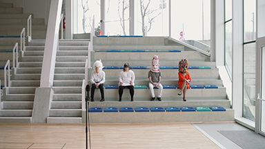 """Léonore Mercier, Justine Pluvinage, Amélie Poirier, """"Madisoning"""" 2020"""